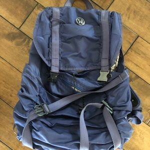 Lululemon Blue Wanderlust Backpack